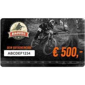 Bikeunit Geschenkgutschein 500 €